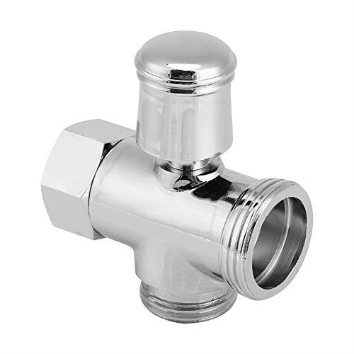 Válvula, G3/4'G1/2' Latón Grifo de 3 vías Divisor Tipo T Cabezal de Ducha Válvula de desvío Decoración de baño