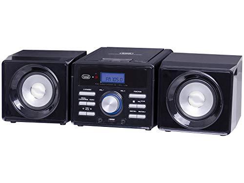 Trevi HCX 1030 S, Mini Hi-Fi Stereo, Nero