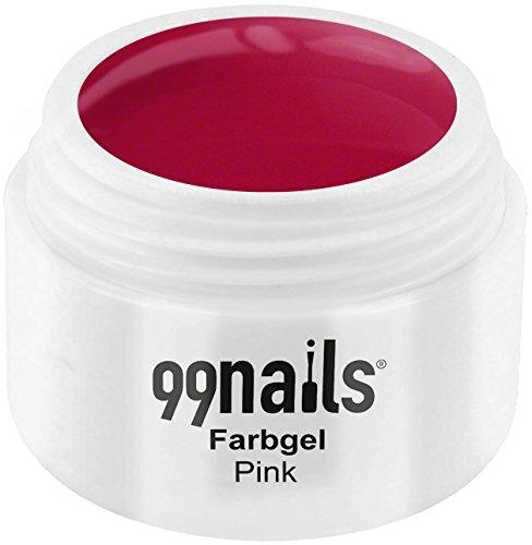 99 Nails® Farbgel – Rose, 1er Pack (1 x 5 ml)