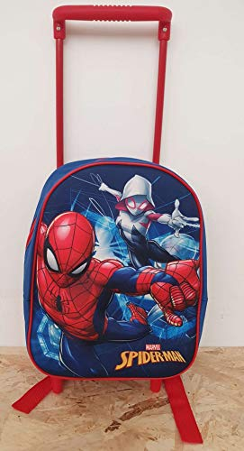 SPIDERMAN TROLLEY ASILO 3D