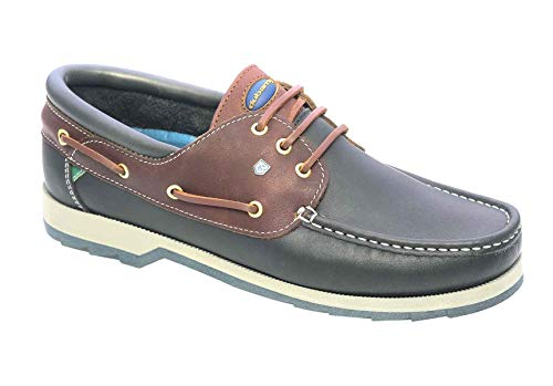 Dubarry Commander 382132F Navy/Brown Leather 45