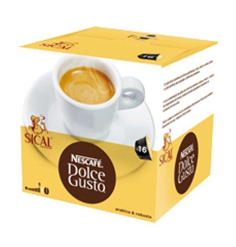 Nescafé Dolce Gusto Espresso Sical Portugiesisch Kaffee–4Boxen–4x 16= 64Kapseln Pods