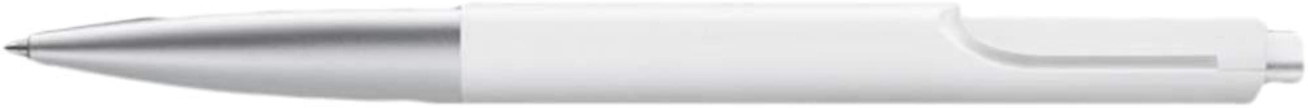 Lamy Unisex Noto Ballpoint Pen - White/Silver