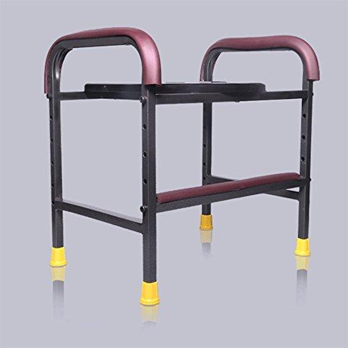 Klappbarer Toilettenhocker Sitz Mit Kommode Toilettenstuhl Für Senioren Portable Closesool Nachttisch Kommode Für Senioren Behinderte Person Toilettenstuhl Medizinischer Toilettenstuhl Schwarz