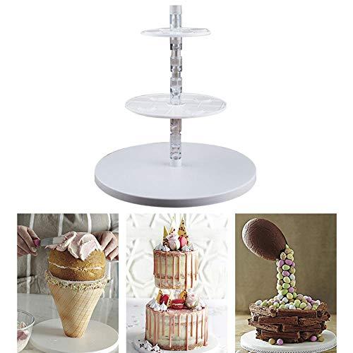 L/_shop Cake Frame Kit Kit De G/âteau Anti-Gravit/é Multi Niveaux Stand G/âteau De Mariage D/écoration De Cuisson Outil De G/âteau Outils