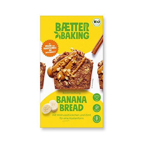 8er Party Pack - Banana Bread Bio - Backmischung (8x309 g) vegan glutenfrei