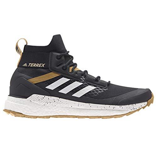 adidas Terrex Free Hiker PRIMEBLUE, Zapatillas para Carreras de montaña Hombre, Core Black/Crystal White/Mesa, 44 EU