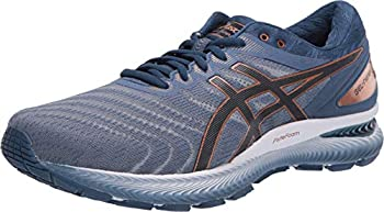 ASICS Men s Gel-Nimbus 22 Shoes 9.5M Glacier Grey/Graphite Grey