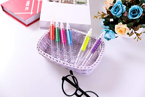 Product Image 2: SDBING 6pc Syringe Highlighter Pens with 6 Colors Christmas gift