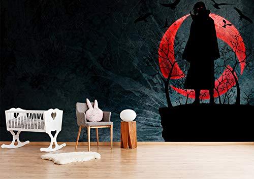 Blovsmile Uzumaki Naruto Uchiha Itachi Papel tapiz mural 3d simple kids room mural room wall poster living room decoration-300 * 250