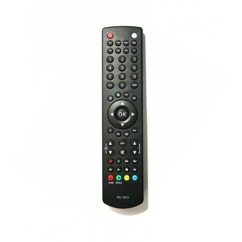 Vestal RC1910 TV-Fernbedienung für Digihome JMB, Isis, Bush, Celcus, Finlux, Hitachi, Linsar, Luxor, Polaroid, Sanyo, Techwood und Visitech
