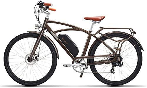 Bici electrica, 26' / 700CC eléctrico Trekking / Touring bicicletas, bicicletas retro bicicleta eléctrica con 48V / 13Ah extraíble de iones de litio, Frenos de disco doble, bicicleta eléctrica trekkin