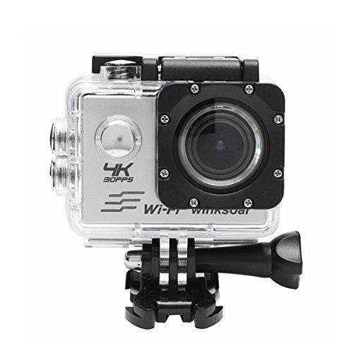 Viviance wasserdichte Sj8000 Ultra 4K Hd 1080 P WiFi 2.0 Zoll LCD Sport Action Mini Dv Kamera - Silber
