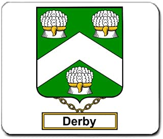 Derby Family Crest Coat of Arms Mouse Pad