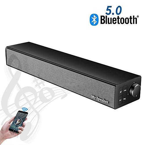Speaker-EJOYDUTY Wireless BT 5.0 stereo sound bar, 2019 bijgewerkte versie, 20W draagbare muziekspeler luidspreker, voor TV/PC/GSM/tablets