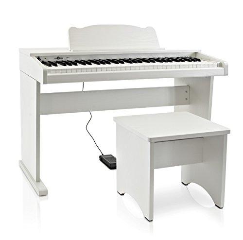 Piano Numérique Junior JDP-1 par Gear4music Blanc