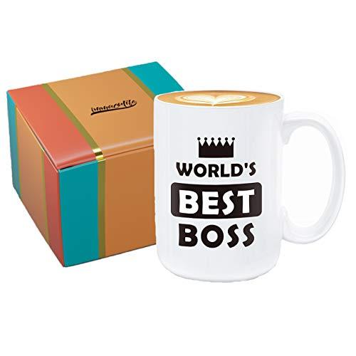 Worlds Best Boss Mug by RealSlickTees