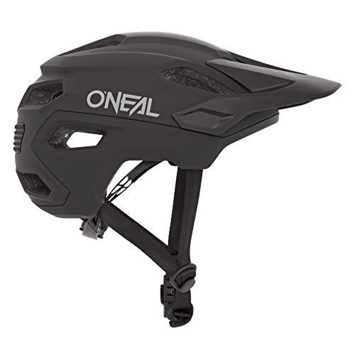 O\'NEAL | Mountainbike-Helm | Enduro All-Mountain | Lüftungsöffnungen zur Belüftung & Kühlung Größenverstellsystem, Sicherheitsnorm EN1078 | Helmet Trailfinder Solid | Erwachsene | Schwarz | Größe L/XL
