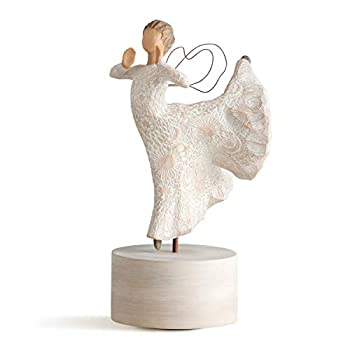 Willow Tree Song of Joy Musical Sculpted Hand-Painted Musical Figure