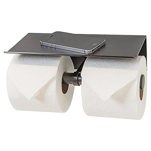 Top 10 best selling list for double toilet paper holder bronze
