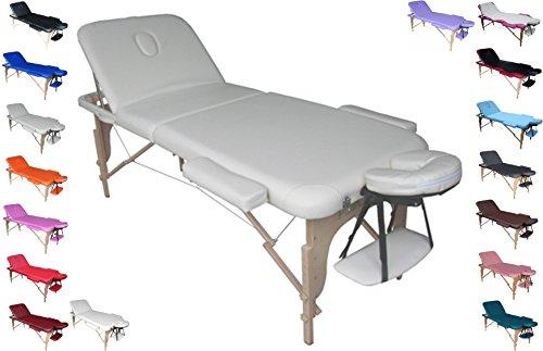 POLIRONESHOP VENERE Camilla profesional portátil plegable para masajes tratamientos de estética esteticista...