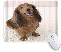 KAPANOUマウスパッド カーペットの上の犬 ゲーミング オフィス最適 おしゃれ 防水 耐久性が良い 滑り止めゴム底 ゲーミングなど適用 マウス 用ノートブックコンピュータマウスマット