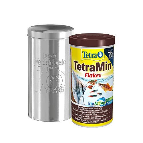 Tetra TetraMin Flakes 1L - Il cibo per pesci in forma di fiocchi negli anni 70 può