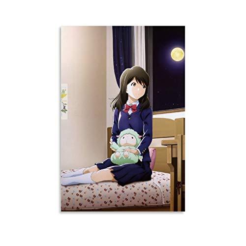 DSGDS 6 pósteres de Tsuki Ga Kirei en lienzo para pared de anime japonés para paredes de dormitorio, estética, 50 x 75 cm