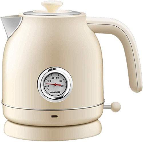 Caldera eléctrica Cocina inoxidable Samovar Control de temperatura rápido caliente ebullición Prevenir seco quema blanco