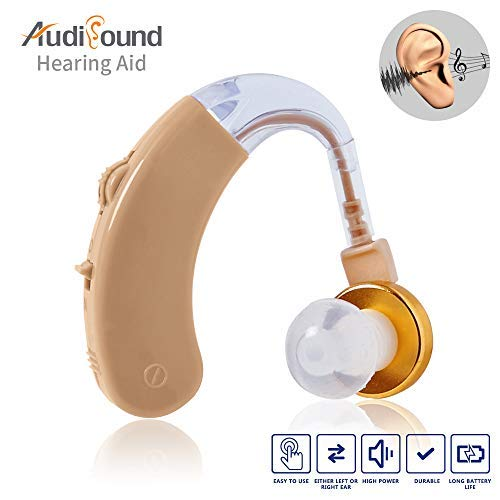 Hearing Aids Amplifiers Personal Sound Amplifier Small Digital Device for Seniors FDA Approval
