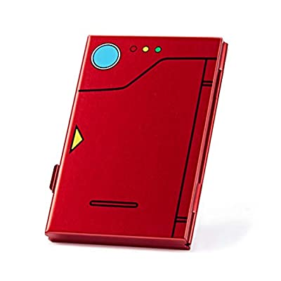 Funlab Premium Game Card Case for Nintendo Switch, Portable Aluminum Games Storage with 6 Cards Holder for Travel Carrying ? Red