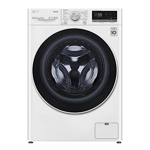 lavatrice wifi LG F4WV512S0E Lavatrice a Carica Frontale 12 Kg