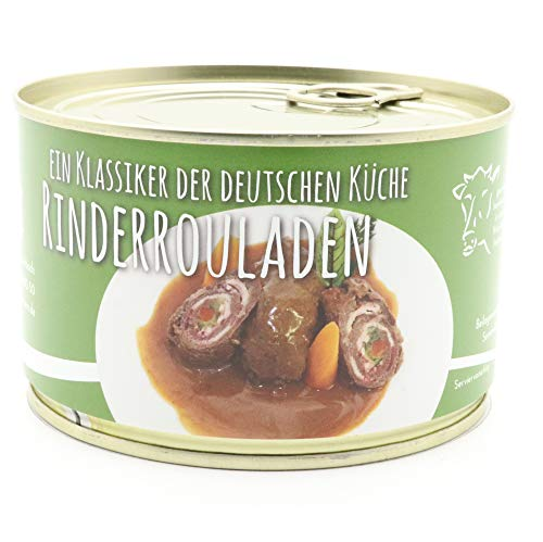 2 X Konserve Diem Roulade vom Rind - Klassisch gefüllt - zwei Rouladen je Konserve - lange haltbar (17,38€ / Kg)