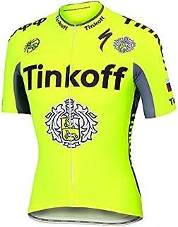 ADKE Maillot Ciclismo Mangas Cortas para Hombre, Camiseta de Bicicleta Transpirable y de Secado rápido