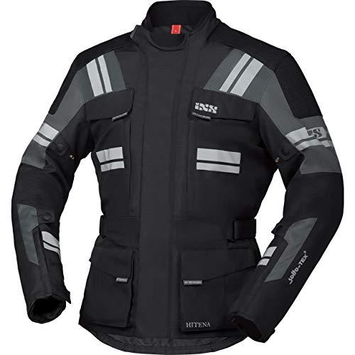 IXS Motorradjacke mit Protektoren Motorrad Jacke Blade-ST 2.0 Tour Textiljacke schwarz/grau S, Herren, Tourer, Ganzjährig, Polyester