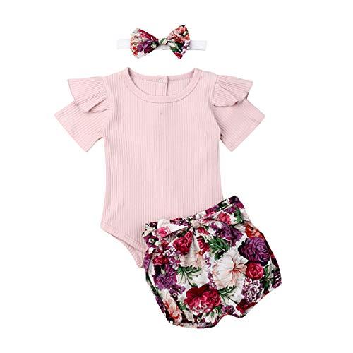 Geagodelia - Conjunto de ropa para bebé recién nacido y niña, diseño...