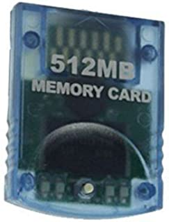 Gamilys 512MB Memory Card Compatible for Wii Gamecube
