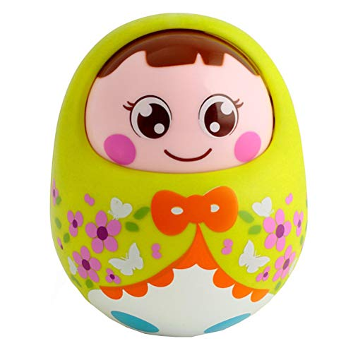 Daxoon Baby Tumbler Spielzeug Cute Cartoon Stehaufmännchen Spielzeug für Baby Geschenk