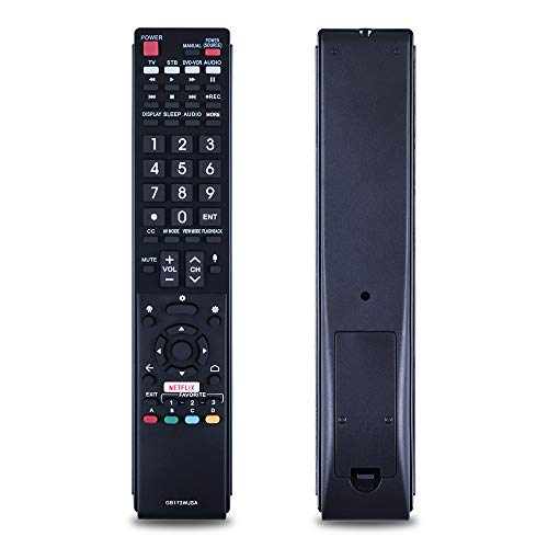 The New GB173WJSA Replacement for Sharp TV Remote Control. Suitable for LC-55UB30U LC-60UE30U LC-70UH30U LC-70UE30U LC-70UC30U LC-80UE30U LC-80UH30U