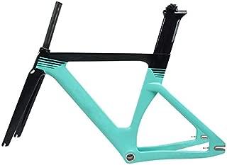 OEM Full Carbon Fiber Track Frame Fixed Gear Bike Frameset with Fork Seatpost 49/51/54/57cm Carbon Bicycle Frame