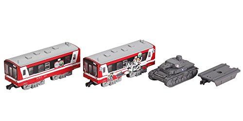 6000 forme des filles et des Panzer voiture emballage B train Shorty Kashima ferroviaire c?ti?re (DMU 2 voitures + IV Panzer) (japan import)