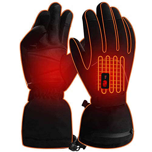 IFWATER Men Woman Heated Gloves Heated Work Gloves Battery Electric...