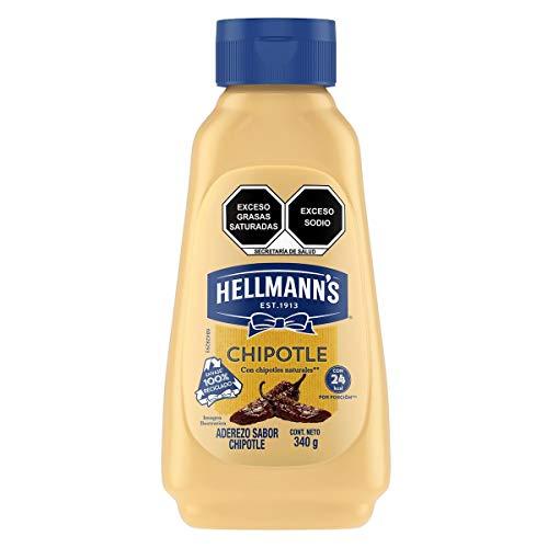 Hellmann's HELLMANNS Mayonesa CHIPOTLE formato SQUEZZE 355g, CHIPOTLE, 355...
