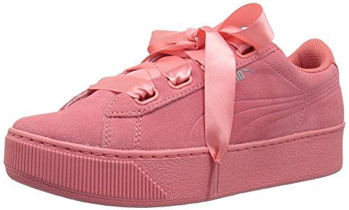 Puma Vikky Platform Ribbon S Zapatos Deportivos Mujer Rosa 36641803