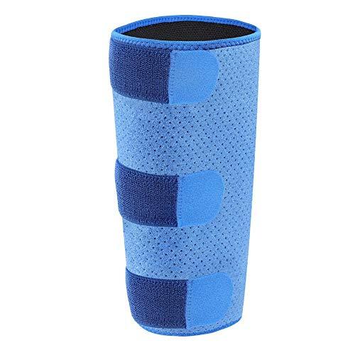 April Geschenke Wadenstütze Verstellbarer Kompressionswickel, Schienbeinstütze gegen Verstauchung, Schwellung, Muskelriss, Entzündung, Unisex