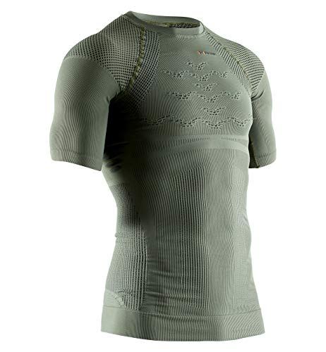 X-Bionic Hunt Energizer 4.0 Light Chemise Homme, Olive Green/Anthracite, FR : 2XL (Taille Fabricant : XXL)