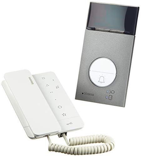 Legrand, Audio-Türsprechanlage Set Flex'ONE, 2-Draht mit Türstation LINEA 3000, Netzgerät und Hausstation CLASSE 100 A16M, Türstation Schutzarten: IP 54, IK10, 364231