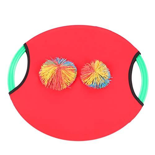 VICASKY Juego de Pelota de Paleta para Lanzar Y Atrapar con 1 Paleta 2 Bolas Juegos de Captura para Niños Juguetes Juguetes Interactivos para Padres E Hijos para Patio Al Aire Libre