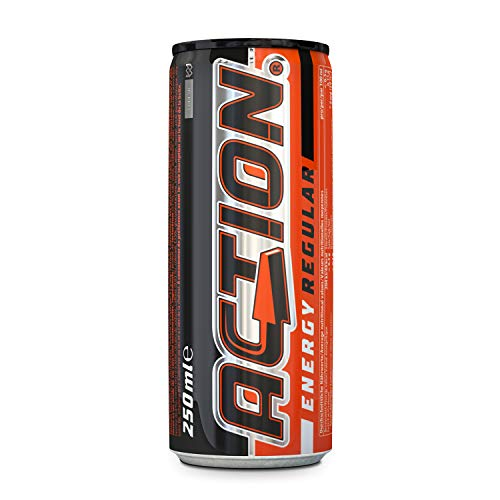 96 Dosen Action Energy Drink a 250ml inkl. Pfand