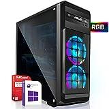 AMD Ryzen 5 3400G 4x4.2GHz PC  16GB DDR4  256GB M2 SSD und 1TB Festplatte   Win10   WLAN   Gamer pc Computer Rechner Leise